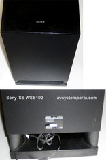 Sony SS-WSB102 Subwoofer