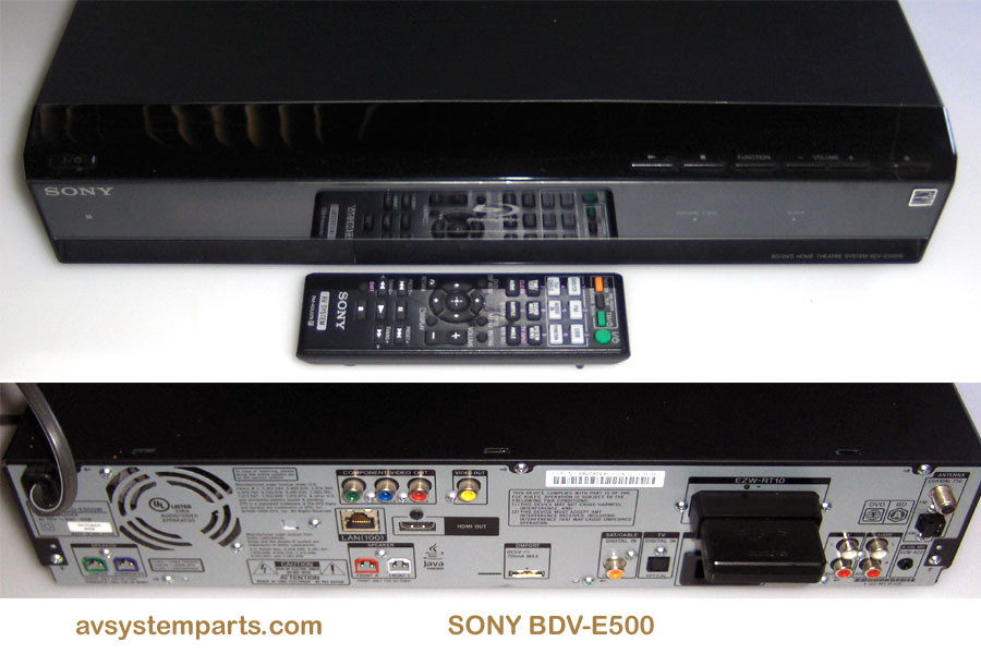 Sony BDV-E500W Home Theatre System Drivers for Windows Download