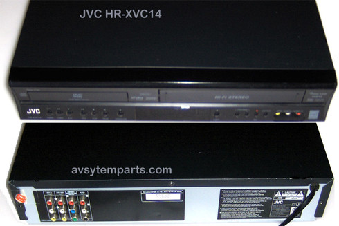 JVC HR-XVC14BUS DVD/VCR Combo Player