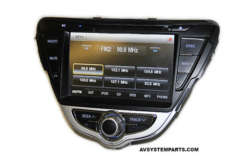 ROSEN DS-HY1130 Hyundai Elantra 2011-12 LCD / DVD Player/ Navigation Receiver