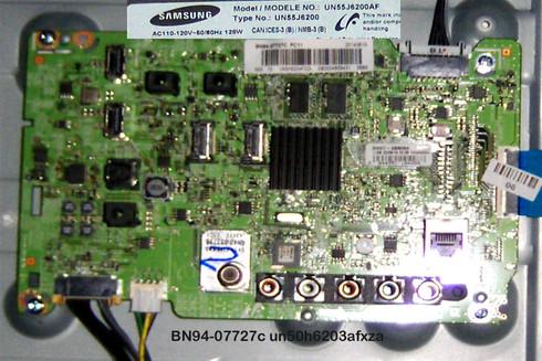 Samsung Main Board BN94-07727c un50h6203afxza