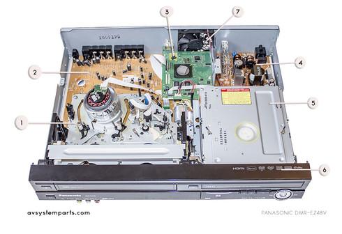 Panasonic DMR-EZ47v,DMR-EZ475v Parts