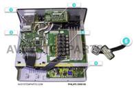 Philips SW8110P Subwoofer parts:SRA2033UC,A796-PCB-003,E131175,ENG06833QF