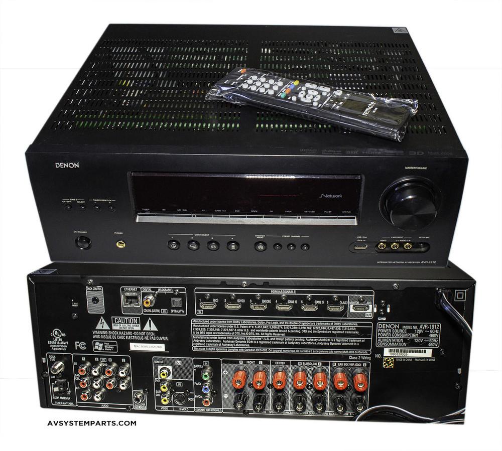 Denon AVR-1912 3D BD , HDMi 7 1 Channel AV Home Theater Multi-Source /  Multi-Zone Receiver