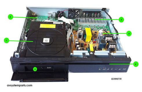 Lg BH6730 parts