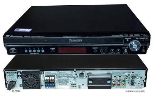 Panasonic Sa-PT950 Receiver , Player