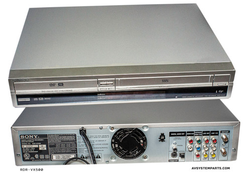Sony RDR-VX500 DVD Recorder/ VCR Combo
