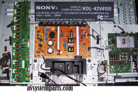 Sony TV KDL42V4100 Parts.