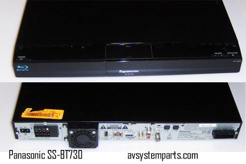 Panasonic SA-BT730 HD Blu Ray/DVD 5.1Ch 1000w HDMi Theater receiver