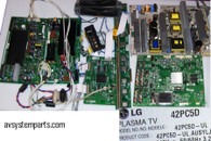 LG 42PC5D TV Parts
