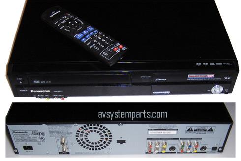 Panasonic DIGA DMR-EZ37V - DVD recorder/ VCR combo