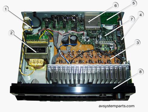 Onkyo TX-SR505 Receiver Parts