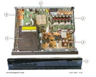 Sony HBD-E280 Parts