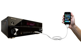 Pioneer VSX-1020-K iPhone, iPOD