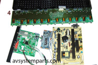 TV Dynex DX-46L262A12 Parts:6MS0052010,6MS00501C0,T315hw04,V291-502