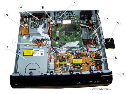 Sony BDV-500E/HCD-500w Parts:BDP-200,1-879-538-12,1-879-532-12,EZW-RT10A