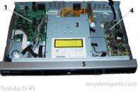 Toshiba D-R5 Parts:7825k,SRV1970JUC,DAV-wr542