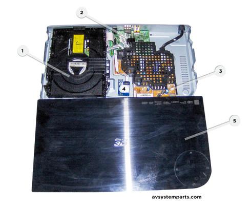 Samsung BD-HM59C Parts:BD-P8S AK96-01822,AK94-00699A,AK94-00696A,WDF210W