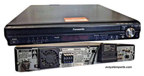 Panasonic SA-PT750 5.1Ch 1000w DVD AM/FM Home Theater Receiver