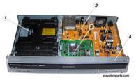 Panasonic DMR-ES20 Parts:VXY1867 ,VEP79113 ,VEP79115