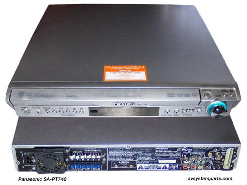 Panasonic SA-HT740 1000W, 5 Disk CD/DVD Home Theater System Receiver