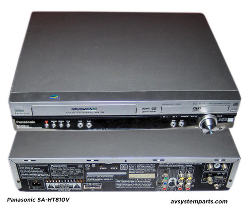 Panasonic SA-HT810v DVD/VSR Home Theater System Player