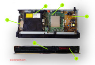 Sony BDP-S570 Parts
