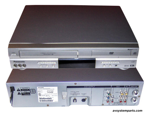 Panasonic PV-D4733S - DVD/VCR Combo Player