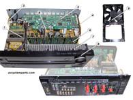 Onkyo TX-NR616 parts:QPWBCHDM1110A,QPWBCP1120B,Bando NPT-1619D