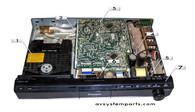 Panasonic SA-PT560 Parts:RQLXS0075,RSBX0564A,RJBX0565AA,RJBX056,RJBX0562CA1A