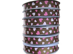 Grosgrain Hearts Ribbon