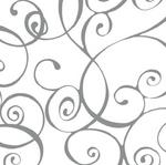 Elegant Swirl Silver