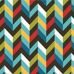 Chevron - Multi colours
