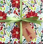 Christmas Floral Wrap