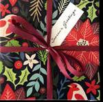 Xmas large Poinsettia Wrap