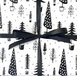Xmas Trees Black