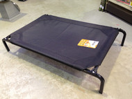 Trampoline Dog Bed Black