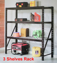 Heavy Duty Industrial Racking with 3 Shelves