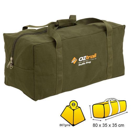 cec1e34d944 Oztrail Large Canvas Duffle BAG BPC Dufl D - Lyal Eales Stores