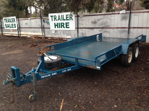 Car Carrier Hire Trailer Lyal Eales Stores