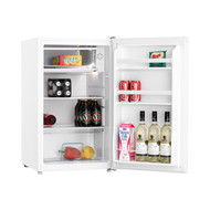 HELLER 116L BAR FRIDGE WHITE - WIRE SHELVES