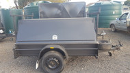"7 X 5 Tradesman Trailer 750kg, 12"" Sides, Checkerplate Floor, Jockey Wheel, Spare Wheel"