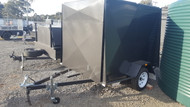 7 X 5 Van Trailer 5ft High, Jockey Wheel, Spare Wheel