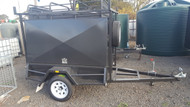 6 X 4 One Piece Tradesmen Trailer, Jockey Wheel, Ladder Rack