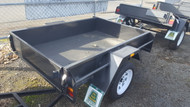 "6 X 4 750KG Trailer GVM 12"" Sides Smooth floor , Fixed front , new rims and tyres"