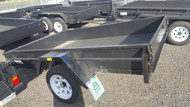 "8 X 5 Trailer 750kg GVM 12"" sides, Checker Plate floor"