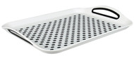 ANTI SLIP TRAY WHITE/GREY
