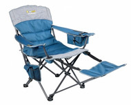 OZtrail Monarch Arm Chair with Footrest