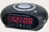 PYE  AM/FM Alarm Clock Radio with Night Light