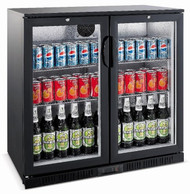 HELLER  Under Back Bar Double Door Fridge